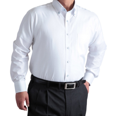 大きいサイズ シャツ・形態安定・長袖ビジネスドレスシャツ【a.v.v ...